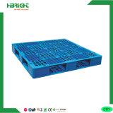 Pálete lateral dobro Stackable do plástico do HDPE