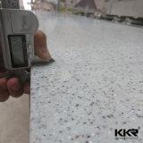 Surface pure blanche de solide d'Acryilc de décoration de cuisine et de salle de bains