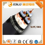 Fita de aço Isolados em XLPE cabo de alimentação blindados (10KV 3-150)