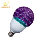 18-32W lâmpada economizadora de energia de cor para a festa de Natal