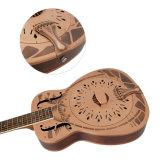 """Aiersi estilo da marca """"O"""" novo projeto de cobre vermelho guitarra da câmara antivibrações"""