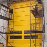 Automatisches Kurbelgehäuse-Belüftung, das industrielle Tür mit grosser Größe stapelt