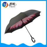 卸し売り熱い販売の二重層のCによって形づけられるハンドルによって逆にされる傘