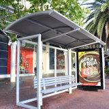 バス待合所の価格の金属のバス停の避難所のバス停留所