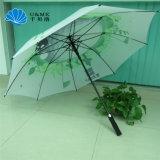 Digital-Druck-buntes Firmenzeichen-gerader Regenschirm-Golf-Regenschirm