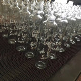 500ml de tampão de plástico do vaso de água de vidro com impressão