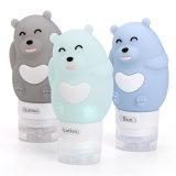 Una muestra gratis Squeezable Botella de viaje, la cosmética de silicona mini botella 89 ml