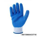 Het katoenen Koord van het Latex breit de Handschoenen van het Werk de Industriële Hand van het Pakhuis beschermt
