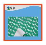 Высокая клейкую бумажную наклейку одежды/индивидуальную подпись