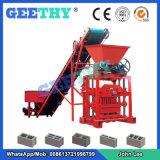 máquina de tijolos de cimento Qtj4-35 máquina para fazer blocos ocos de betão