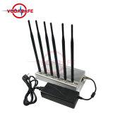 Emittente di disturbo fissa dello stampo del walkie-talkie, stampo della stanza del cellulare CDMA/GSM/3G2100MHz/4glte Cellphone/Wi-Fi/Bluetooth