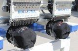 Holiauma 행복한 자수 2 헤드 15 색깔 자수 기계 모자 의복 자수 기계