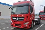 Neuer Zustands-Nordbenz-LKW-Kopf Beiben V3 3 LKW-Traktor der Wellen-6X4