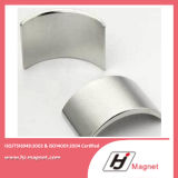 De super Sterke N52 Magneten van NdFeB van de Motor van het Segment van de C van de Boog Permanente