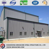 Tailandia prefabricadas de estructura de acero Industrial Fábrica
