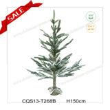 Os pés H3-5 dirigem a decoração nevando do jardim da árvore de Natal do PE da manufatura