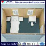 짜맞추는 Prefabricated 콘테이너 집 40 피트 강철 구조물 호화스러운 가벼운 강철