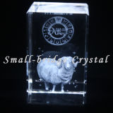 3D cristal grabado con láser Aries