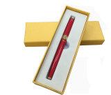 Cadre à plume unique de couverture de rectangle d'or simple de panneau, annonçant le cadre de crayon lecteur de promotion, cadre de papier de crayon lecteur, cadre de crayon lecteur de cadeau