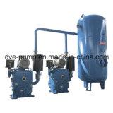 Pompe à vide à piston rotatif à deux étapes pour le recyclage et le dépistage de l'huile