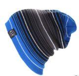 Kundenspezifische Form-bunte Streifen Beanie, Winter-Schutzkappen, warme Schutzkappen, in den verschiedenen Farben, in den Größen, in den Entwürfen und in den Materialien