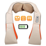 Управляемый батареей Massager всего тела шеи и задней части Shiatsu