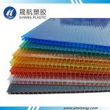 Scheda Glittery del tetto del PC del policarbonato con il rivestimento UV