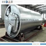 Óleo oleoso para planta de refinação de diesel por pirólise e destilação