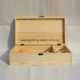 Caja de madera para el vino tinto