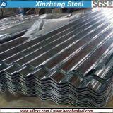 Chapa de aço galvanizada mergulhada quente de Dx51d SGCC para a telha de telhado