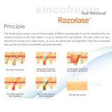 Equipamiento médico sin dolor vendedor caliente aprobado por la FDA de la máquina del retiro del pelo del laser del diodo 808nm