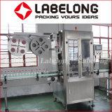 Etiqueta de identificação do vaso de encolhimento máquina de rotulação da Luva