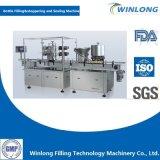 Enchimento automático de emulsão de gordura e máquina Stoppering de Borracha