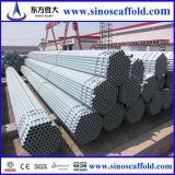 ERW 48.3mm Galvanized Scaffolding Pipe per Structure
