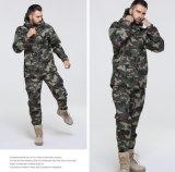 Куртка маскировочного костюма армии нового сбывания конструкции горячего теплая Windproof равномерная с клобуком