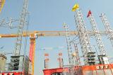 Tower a coperchio piatto Crane Qtz80p (PT5613) max Load 8t