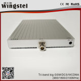 Tri Band 900/1800 / 2100MHz 20dBm 2g 3G 4G Powerful Mobile Signal Booster