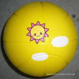 Eco-Friendly Factory Preço barato Preço baixo Colorful Toy Rubber Basketball