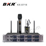 Huit canaux Réunion microphone numérique sans fil KX-D718