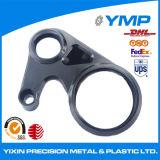Custom pequeño fresado de aluminio 6061 piezas con acabado en óxido negro