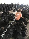 Câmara de ar de borracha natural de grande resistência 400-12 de câmara de ar interna da motocicleta