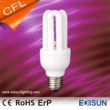 세륨 RoHS 승인되는 CFL 3u 9W 11W 18W E27 에너지 절약 램프