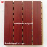 Tarjeta de madera del techo del panal del panel de la azotea del título de la pared del panel acústico
