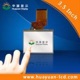 3.5 인치 4 철사 저항하는 접촉 스크린 LCD 스크린