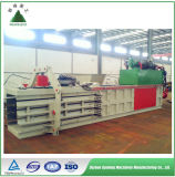 Máquina hidráulica horizontal da prensa do papel Waste