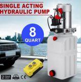 Unité de Puissance hydraulique simple effet pour les remorques de vidage Kti - 12 VCC - 8 pinte Vevor