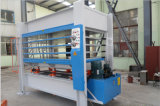 Machine chaude hydraulique de presse pour la porte
