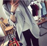 Venda por grosso de tricotar longo mulheres Cardigan casaco de Inverno Fashion