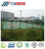 De RubberBevloering van uitstekende kwaliteit van het Hof van Sporten Spu (het Polyurethaan van het Silicium)