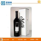 Caixa de papel branco para vinho